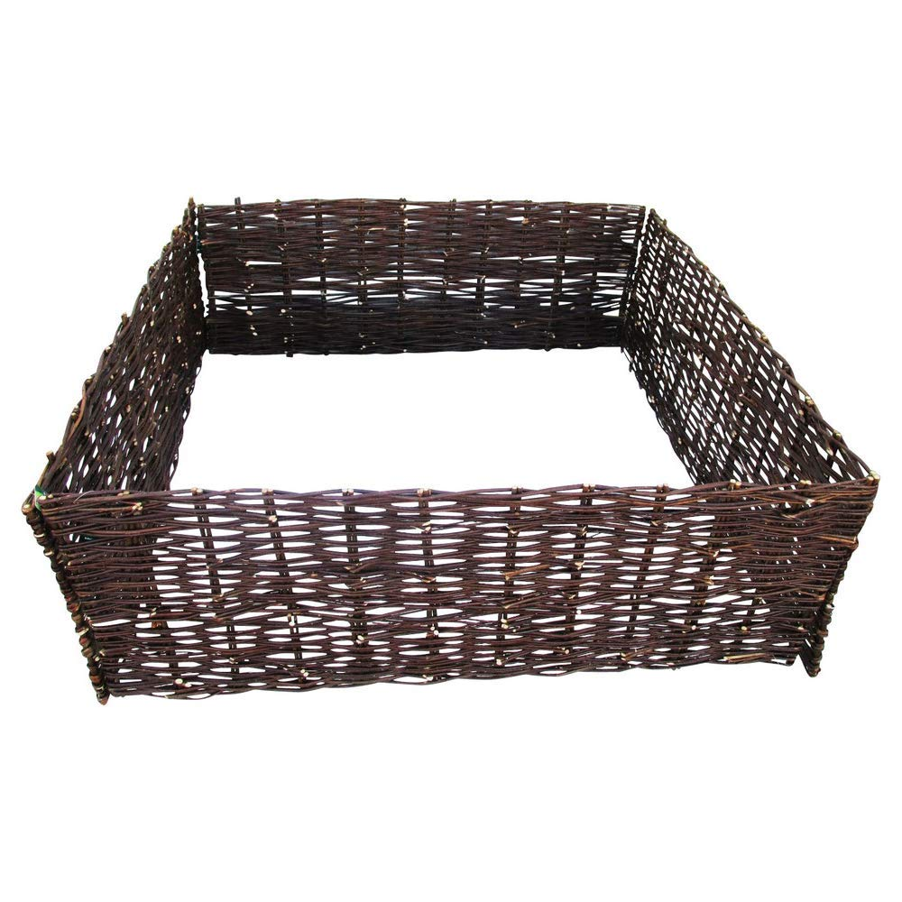 MGP Woven Willow Raised Bed, 48'' W x 72'' L x 12'' H