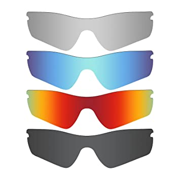 e1a2c31db1 Mryok POLARIZED Replacement Lenses for Oakley Half X Sunglasses Ice Blue