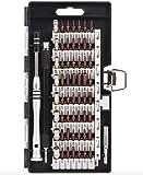 60in1 56種ビット S2合金鋼 精密ドライバーセット マグネット 特殊ドライバーセット 多機能ツールキット スマホ iphone 時計 PC などの 修理 分解 改造 清掃 60IN1KIT