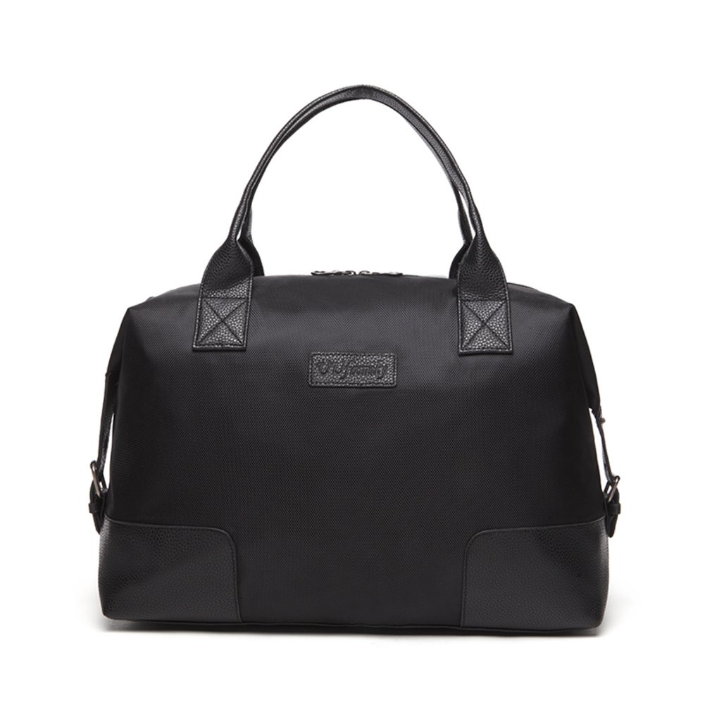 Business handbags men's large-capacity short luggage bag oxford cloth bag-A