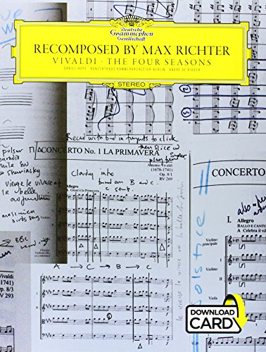 Vivaldi Four Seasons Recomposed By Max Richter Violin/Piano W/ Audio Download by Music Sales America