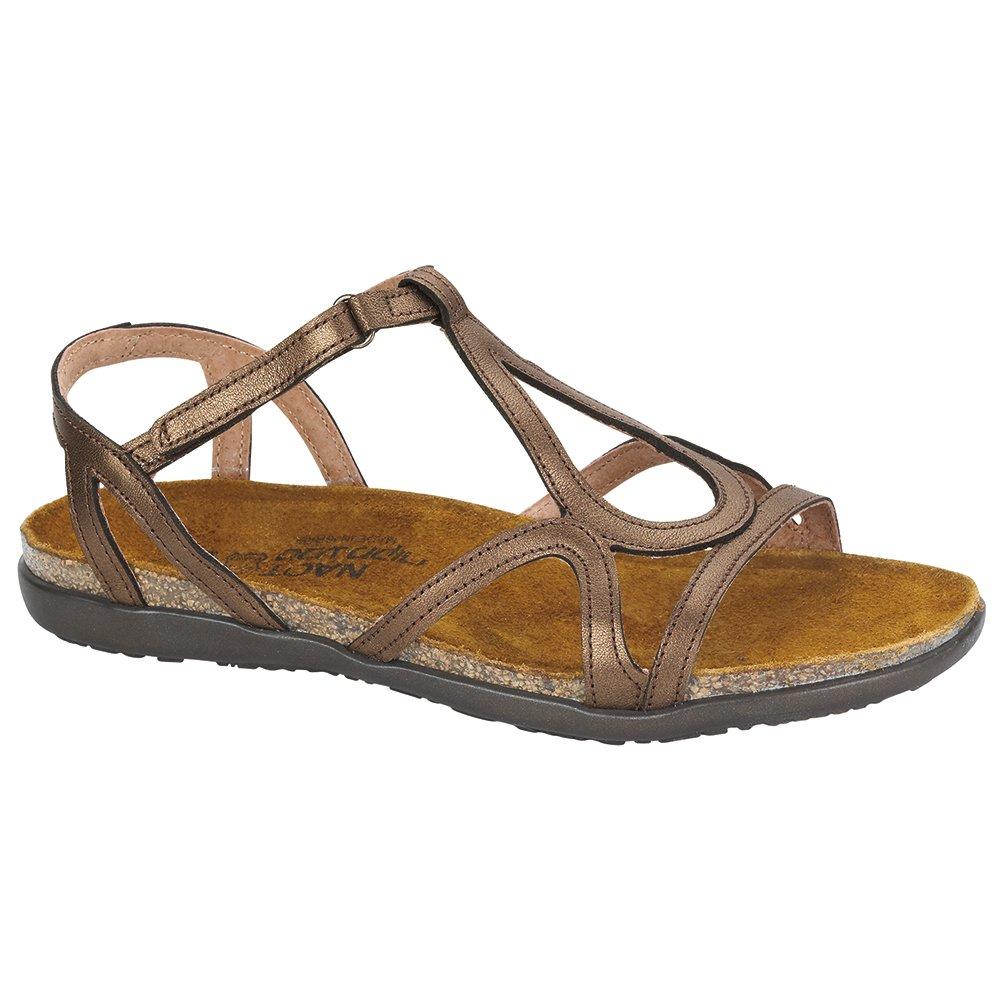 NAOT Dorith Flat Elegant Women Sandals, Grecian Gold Leather,Size - 38 B01MG3F2AO Parent
