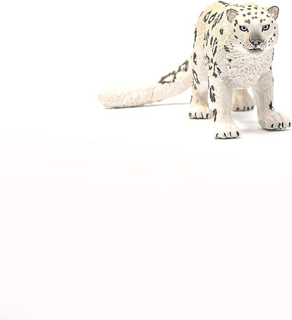 SCHLEICH WILD LIFE SNOW LEOPARD giocattolo figura 14838