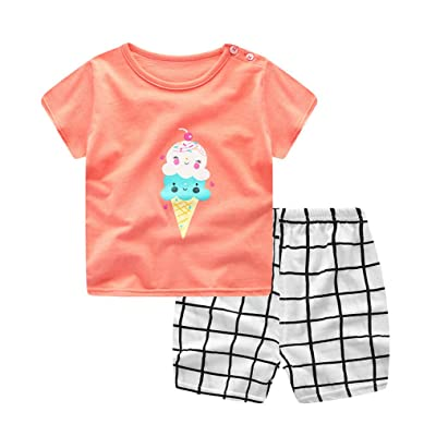 Plaid Baby Boy Clothes Summer 2018 New Aircraft Baby Boy Girl Clothing Set