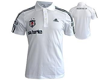 2273b3d29f6b adidas Besiktas Istanbul Polo-Shirt Jersey ClimaLite weiß  Amazon.de ...