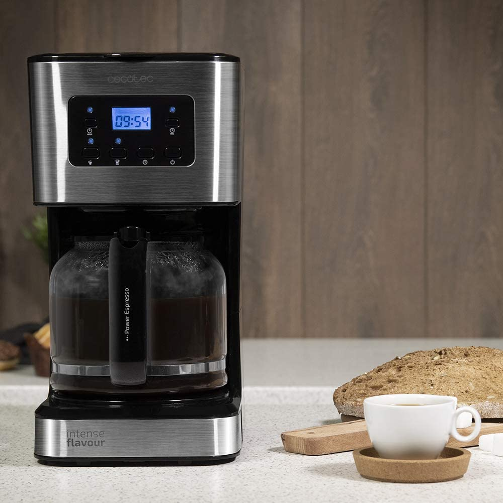 Cecotec Cafetera de Goteo Coffee 66 Smart. Programable con Tecnología ExtemAroma, Función AutoClean: Amazon.es: Hogar