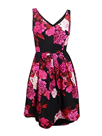 Designer Plus Size DRESS AUTUMNS DAYS - Red Claret - 14 / XS | City ...