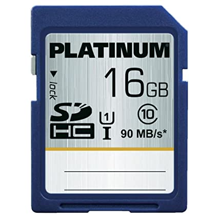 Bestmedia SDHC 16GB memoria flash Clase 10 UHS - Tarjeta de memoria (16 GB, SDHC, Clase 10, UHS, 90 MB/s, Azul)