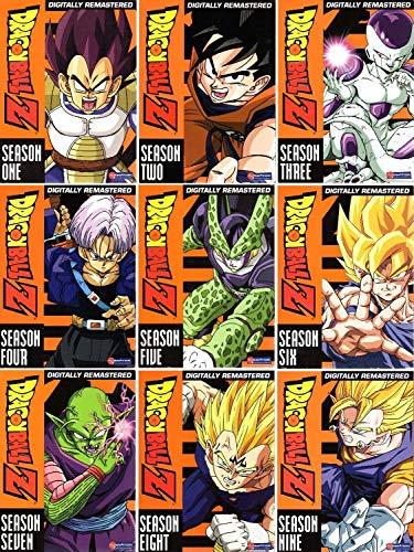 Dragonball Z Complete Seasons 1-9 Box Sets (9 Box - 6 Z Dragon Box Ball