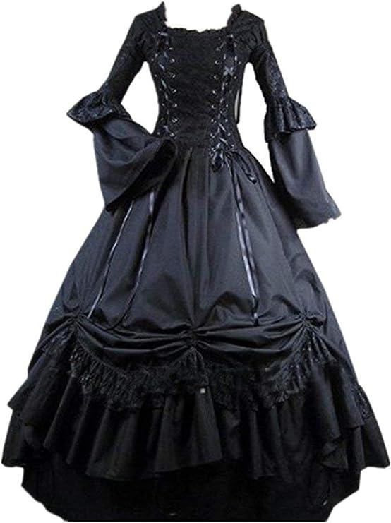 Edwardian Gothic Costume Dress