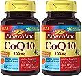 Nature Made Coq10 200 Mg gaQPiv, 2Pack (80 ea)