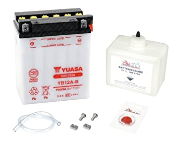 Yuasa Battery Honda Xl 600 V Transalp 1987 1996 Pd06 Amazonco
