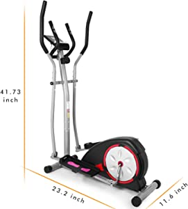 Bestlucky Elliptical Machine Elliptical Training Machines Magnetic Smooth Quiet Driven Elliptical Exercise Machine for Home Use by Bestlucky