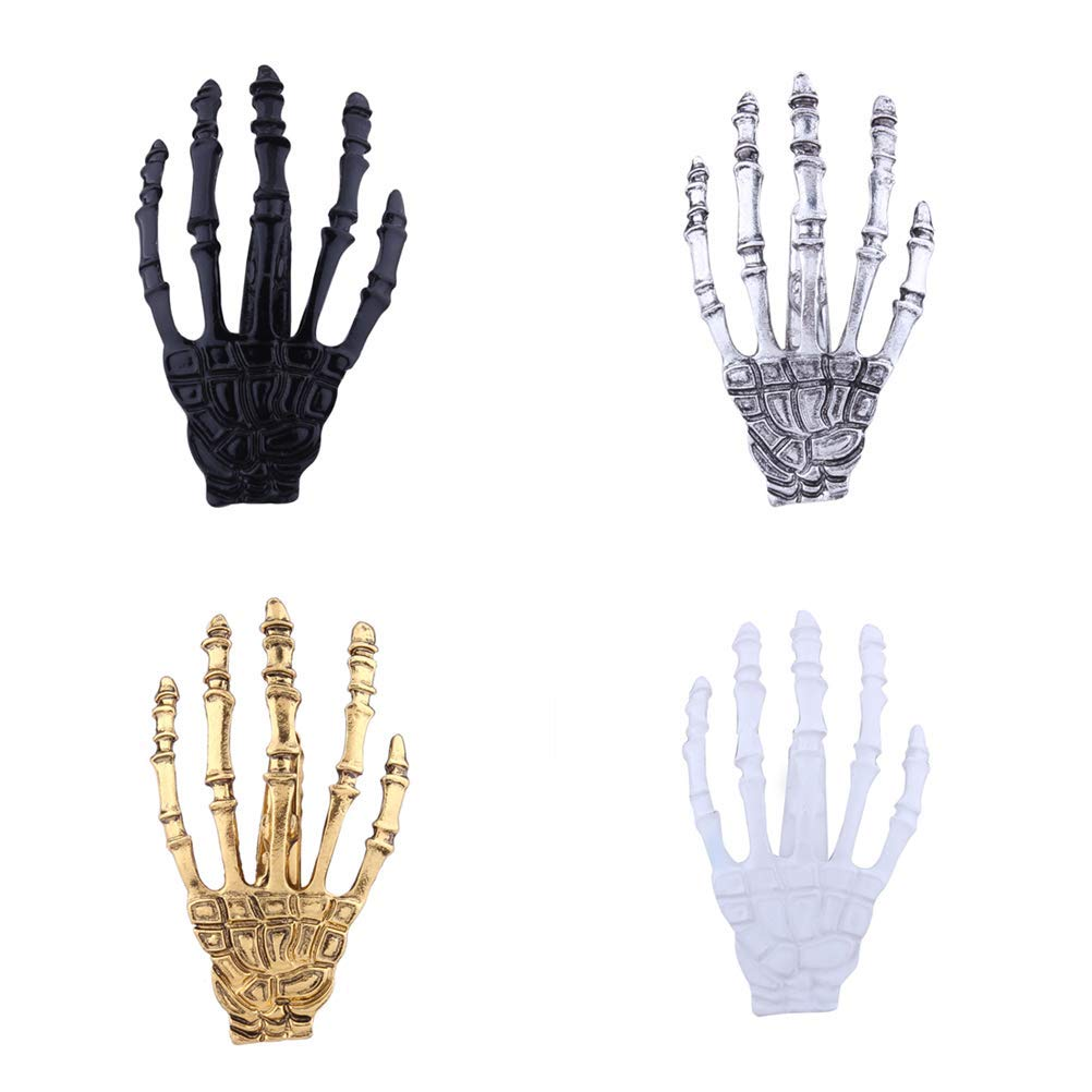 Buy Siywina 4 Pieces Hand Hairpin Personality Gothic Punk Wind Hand