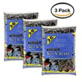 PACK OF 2 - 3-D Pet Products Premium Nut N' Berry Dry Wild Bird Food, 14 LB