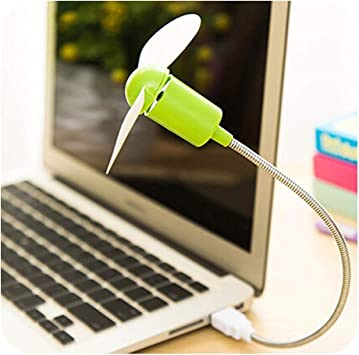 USB Flexible Metal LED Cooling Fan Cooler for PC Computer Notebook Laptop Mini