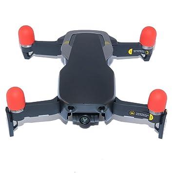 Juego de 4 fundas de silicona para dron de 6 colores para motor ...