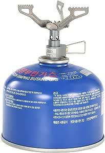 Quemador de estufa de gas Docooler. Una sola pieza súper ligera de 25 gramos hecha de aleación de titanio. BRS-3000T 2700 W