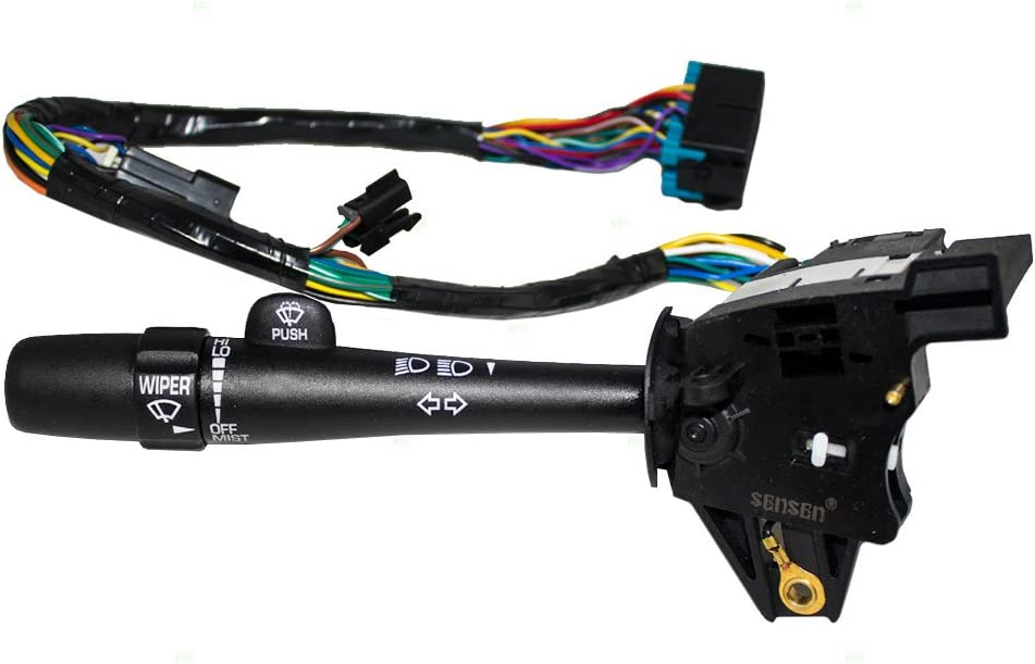 Turn Signal Switch Wiper Dimmer Brights Lever Replacement for Impala Monte Carlo 88964581
