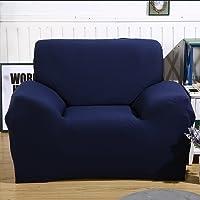 JIAN YA NA Housses de canapé Extensibles Housse de canapé d'angle Housse en Polyester Housses Extensibles pour canapé en L + 2pcs Couvre oreillers