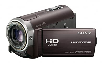 amazon com sony hdr cx350v 32gb high definition handycam camcorder rh amazon com Sony HDR- AS15 Sony HDR- AS15