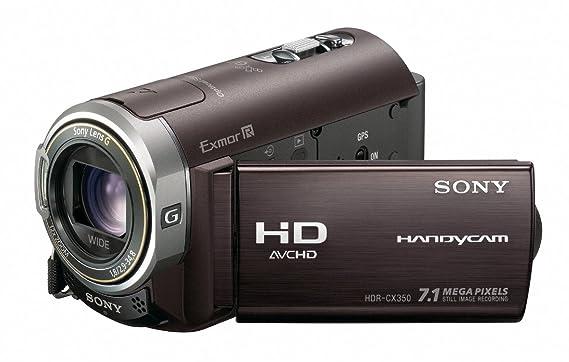 amazon com sony hdr cx350v 32gb high definition handycam camcorder rh amazon com
