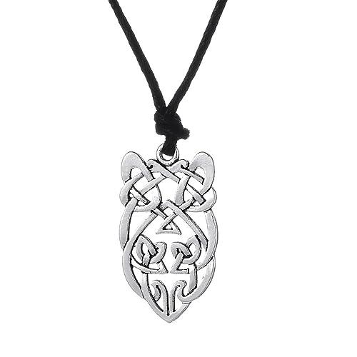 Amazon Fishhook Celtic Knot Owl Pattern Wisdom Symbol Talisman