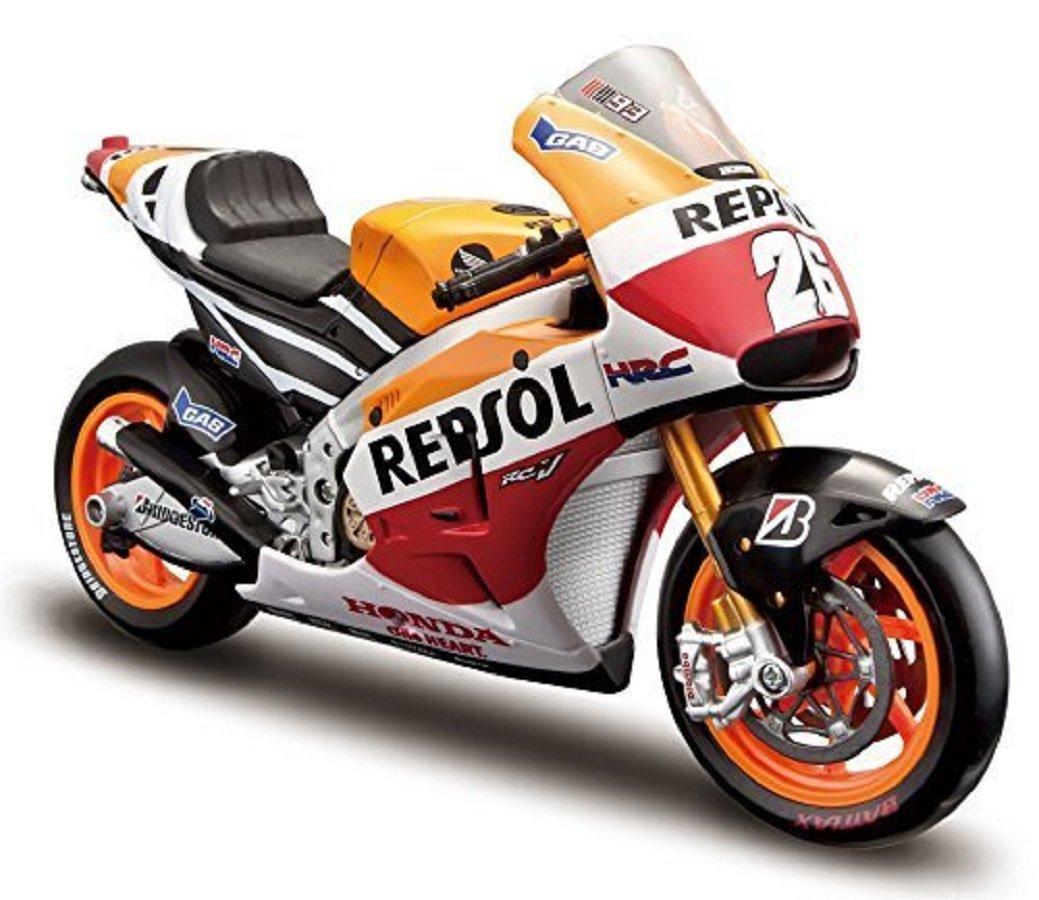 マイスト Maisto 1/10 ホンダ Honda Team 2014 Repsol RC213V DANI PEDROSA NO 26 オートバイ Motorcycle バイク Bike Model 31406 [並行輸入品] B01D7D5X8A