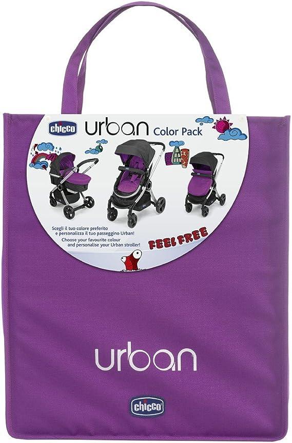 Carrito de bebé Chicco Urban Color Pack (Beige) Cyclamen: Amazon.es: Bebé