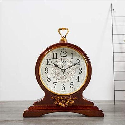 Dfghbn Reloj de Mesa Vintage Sin tictac con Pilas Decorativa de la ...