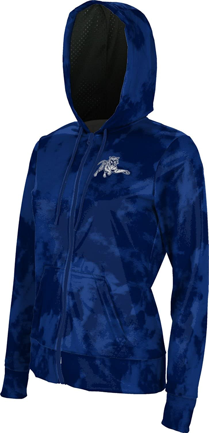 Jackson State University Girls Zipper Hoodie Grunge School Spirit Sweatshirt