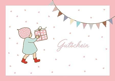 Vale para cumpleaños nacimiento o bautizo. Dulce tarjeta de ...