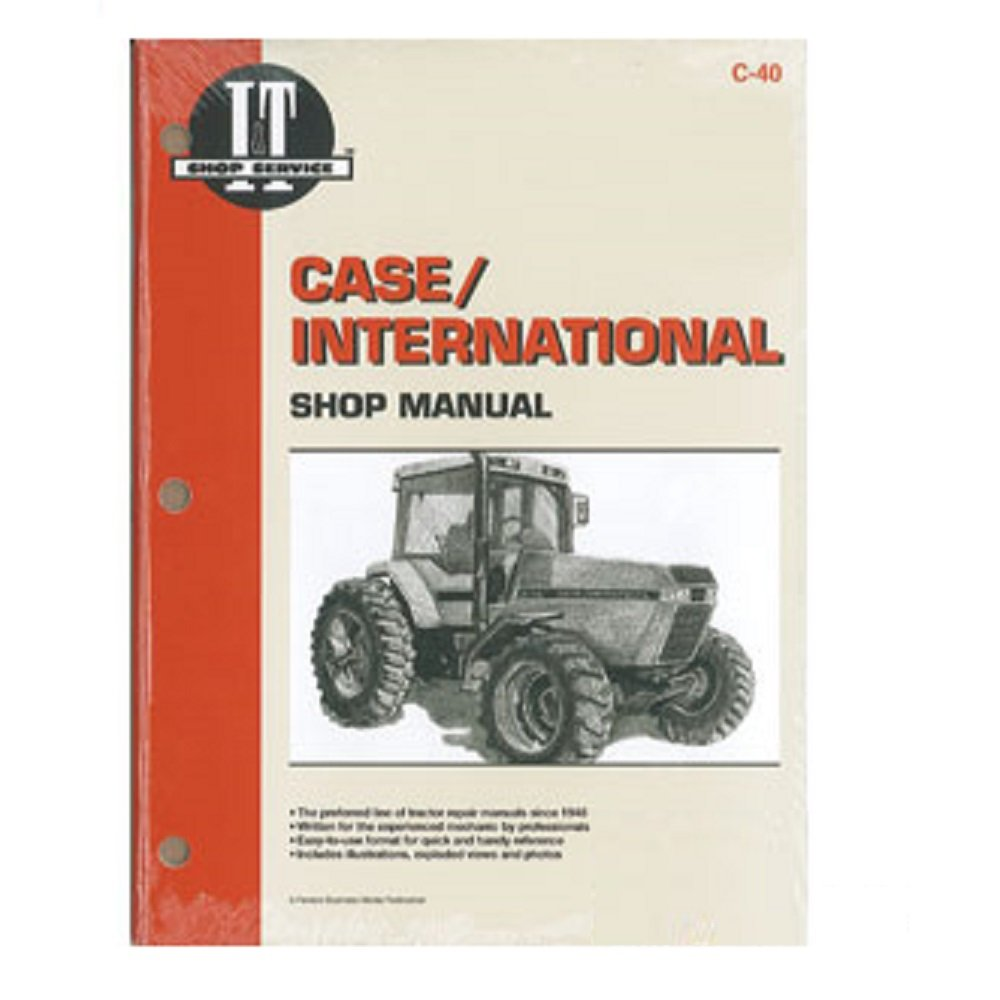 C40 New Case / International Harvester Shop Manual 7110 7120 7130 7140:  Amazon.com: Industrial & Scientific