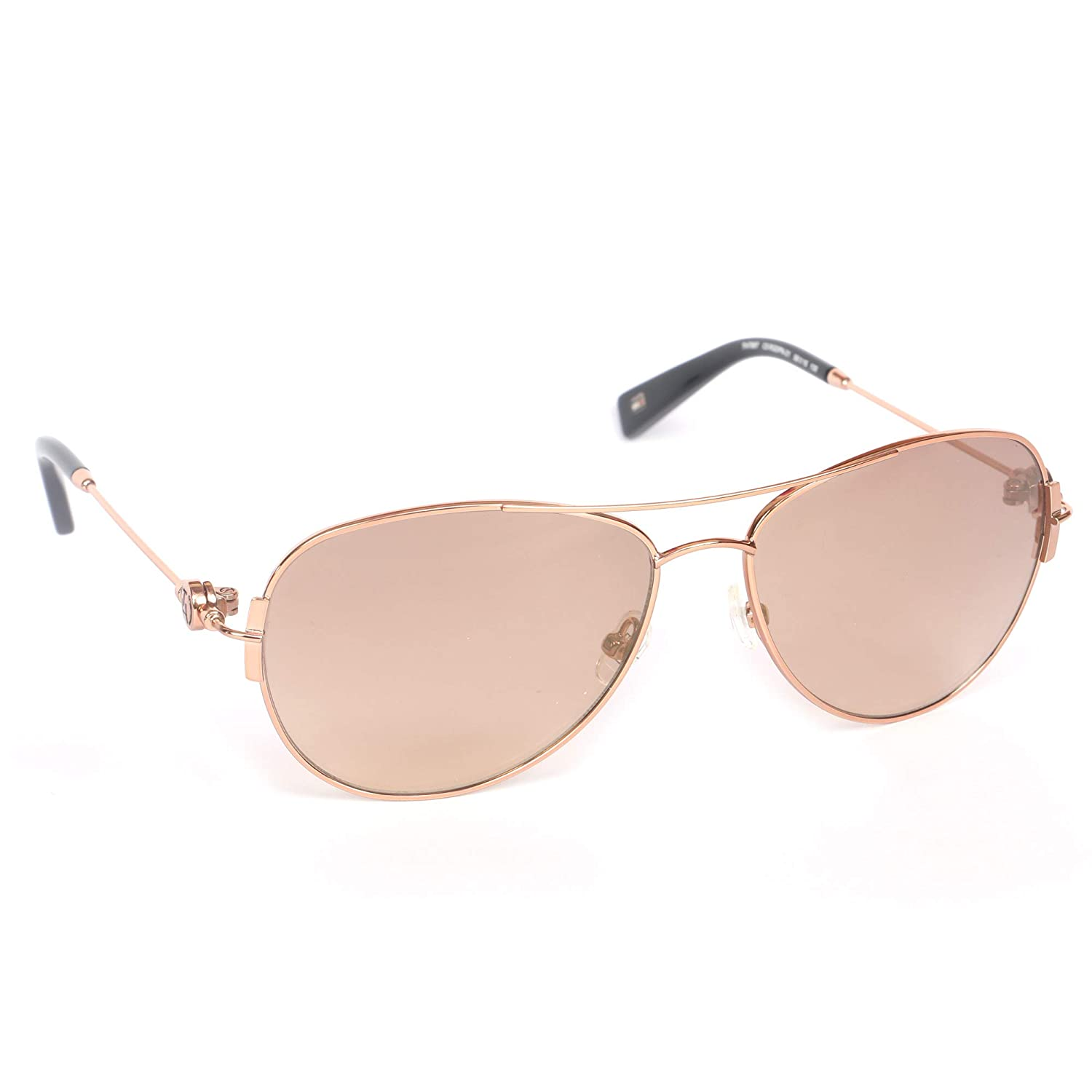 43ff419a97ae Tommy Hilfiger Mirrored Aviator Unisex Sunglasses - (Tommy Hilfiger 7887  Rgpn-21 C5 58 S|58|Gold Color): Amazon.in: Clothing & Accessories