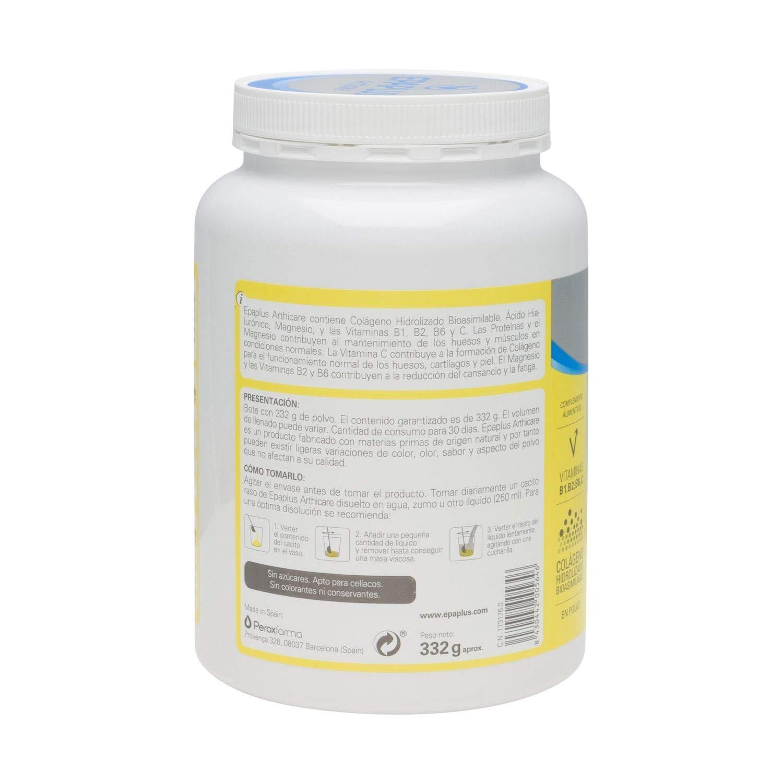 Amazon.com: Epaplus Collagen + Hyaluronic + Magnesium Lemon Flavour 30 Days Powder 332GR / Keep Joints Flexible/Prevent Cartilage Damage: Health & Personal ...