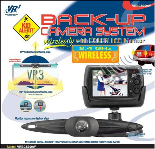 VR3 VRBCS300 Back-Up Camera with 2.5-Inch LCD Color Monitor