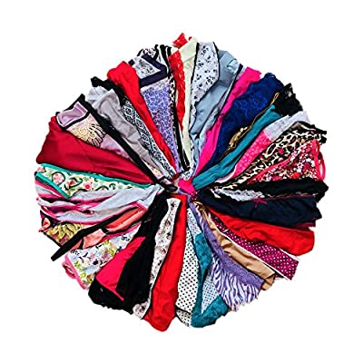 Morvia Variety Panties for Women Pack Sexy Thong Hipster Briefs G-String Tangas Assorted Multi Colored Underwear