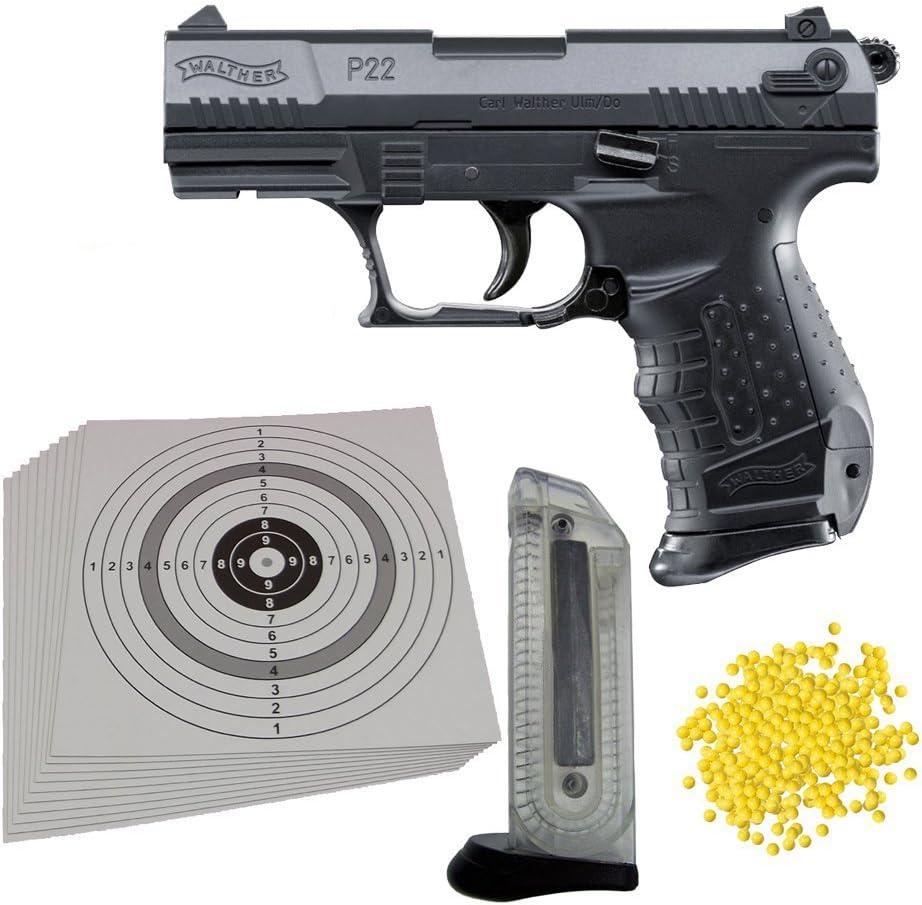 Lizenzversion Federdruck #14 2.5179 Walther P22 Softair // Airsoft mit HopUp  0,5 J.