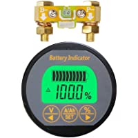 AiLi voltímetro Amperímetro Voltaje Corriente Medidor 80V 350A