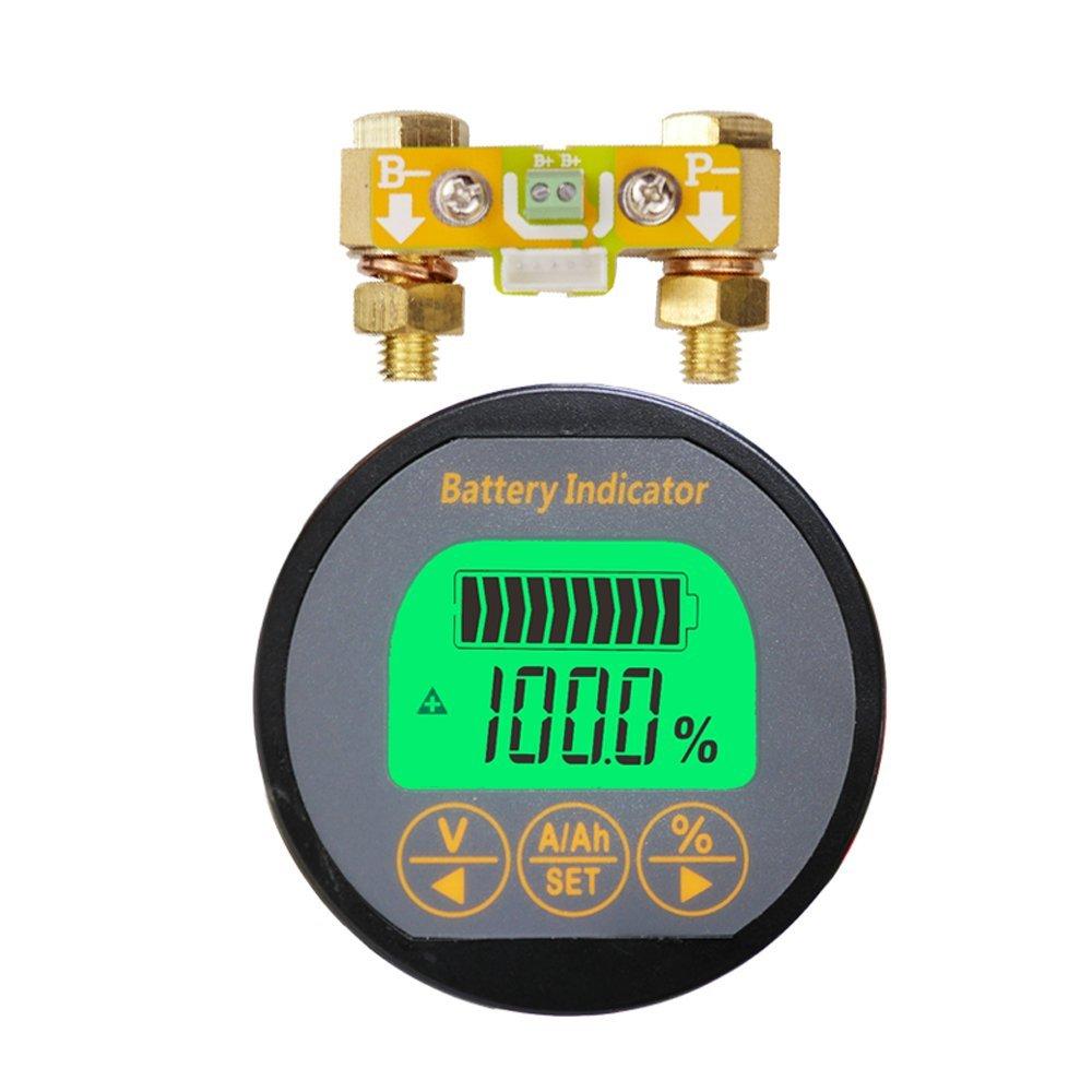 AiLi Voltmeter Ammeter Voltage Current Meter Voltmeter Ammeter 80V 50A Caravan RV Motorhome 999 AH