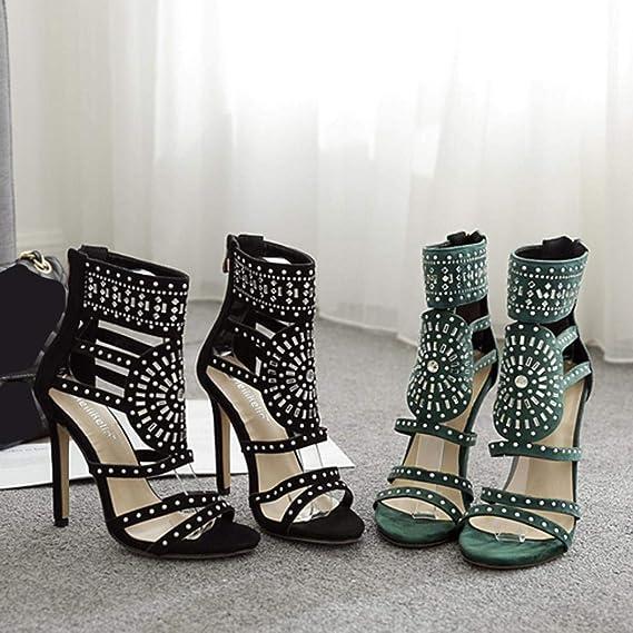 Covermason Zapatos Tacón alto mujer verano 2018, vestir de lujo de verano de los tacones altos de las mujeres: Amazon.es: Ropa y accesorios
