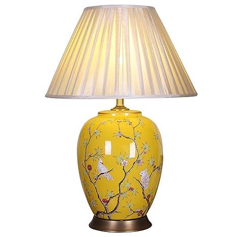 Lámpara de Mesa de cerámica de Estilo Europeo Villa Club ...