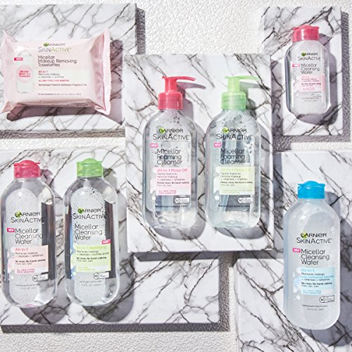 Garnier SkinActive Micellar Cleansing Water, For All Skin Types, 13.5 fl. oz.