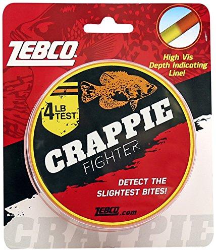 Zebco CRDPLINE04CP4 Zebco Crappie Depth Locator Line, 4 Lbs