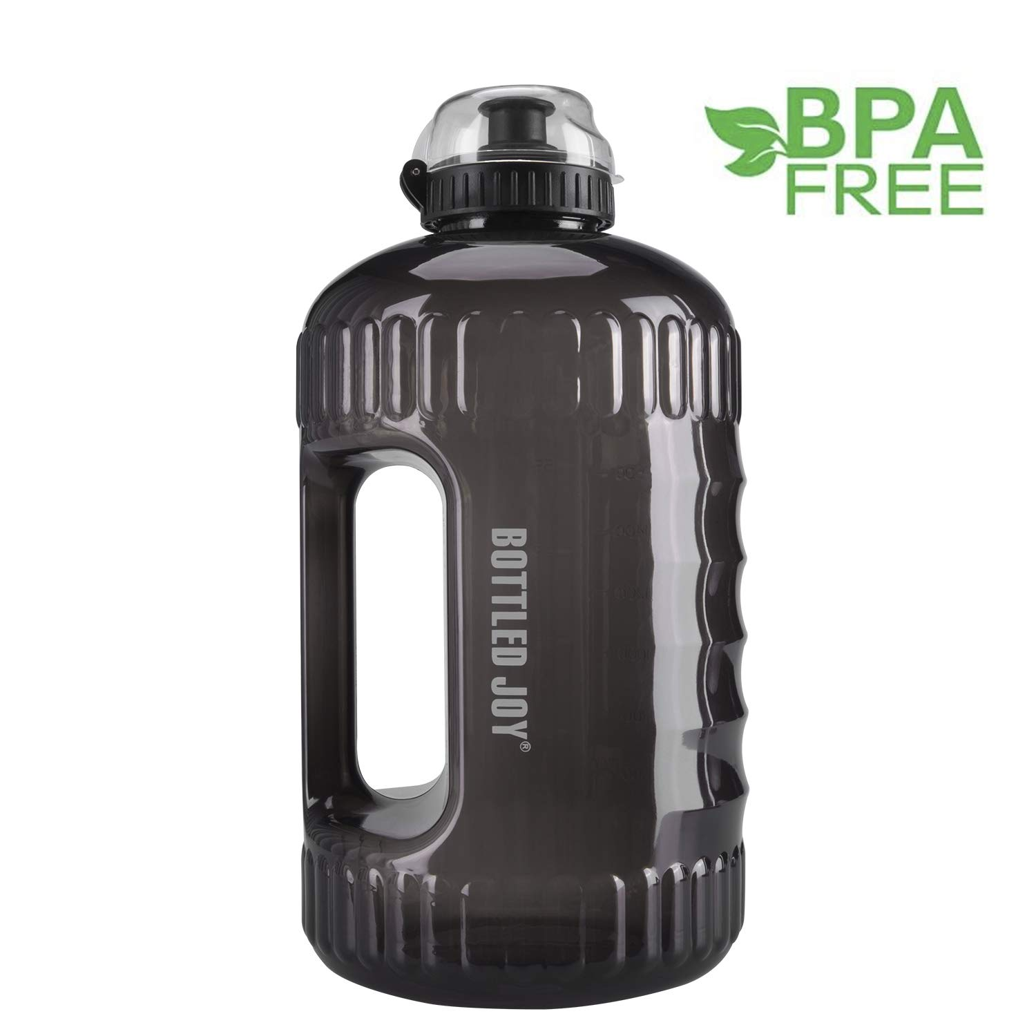 6fa7f9894d BOTTLED JOY Water Bottle, Large Water Jug with Handle BPA Free Plastic  Sports Water Bottle Wide Mouth and Leakproof Gallon Water Bottle for  Outdoor Gym ...