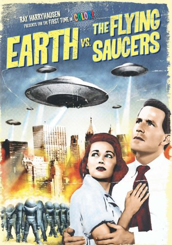 Earth vs. The Flying Saucers (Color) (Vintage 50s Canisters)