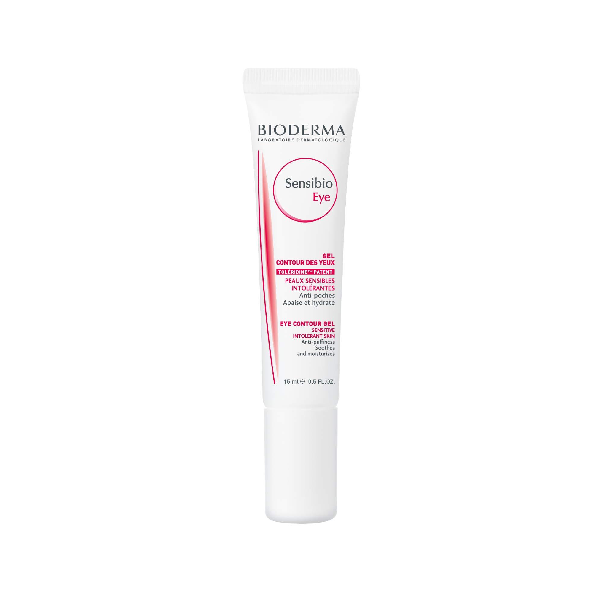 Bioderma - Sensibio - Eye Contour Gel - Moisturizing and visibly reduces fine lines - Skin Soothing - for Sensitive Skin