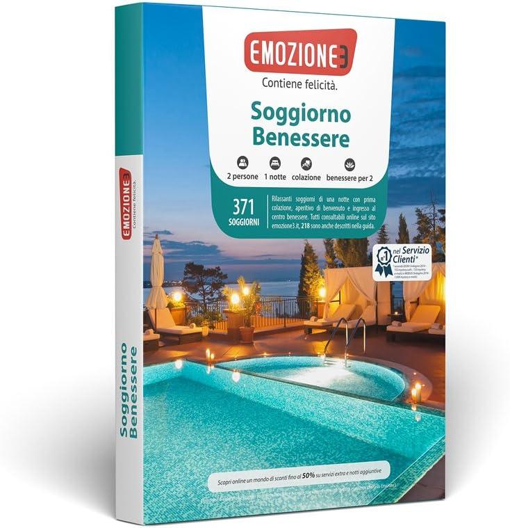 Emozione3 - SOGGIORNO BENESSERE - Cofanetto Regalo ...