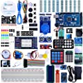 Elegoo Mega 2560 Project The Most Complete Ultimate Starter Kit w/ TUTORIAL, MEGA 2560 controller board, LCD1602, Servo, Stepper Motor for Arduino Mega2560 UNO Nano by Elegoo