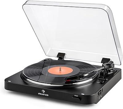 auna TT-30 BT Tocadiscos Bluetooth: Amazon.es: Electrónica